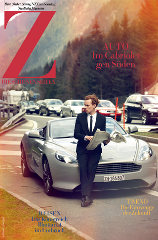 Edition Nikolas Kerl – «Cover NZZ Zeit